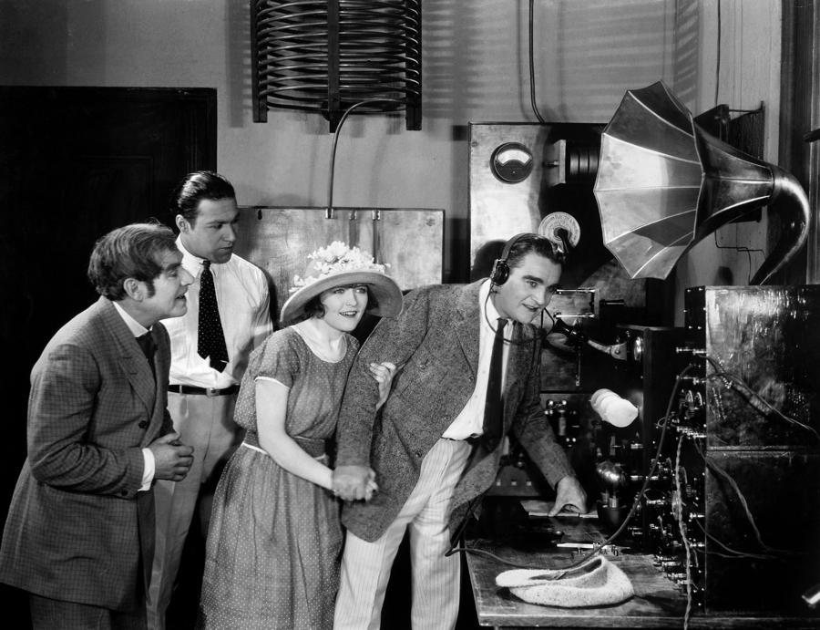1920s radio station equipment wwj radio station